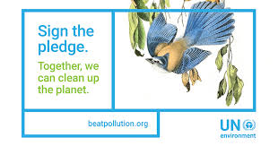 HWE joins the UN pledge towards a pollution free planet