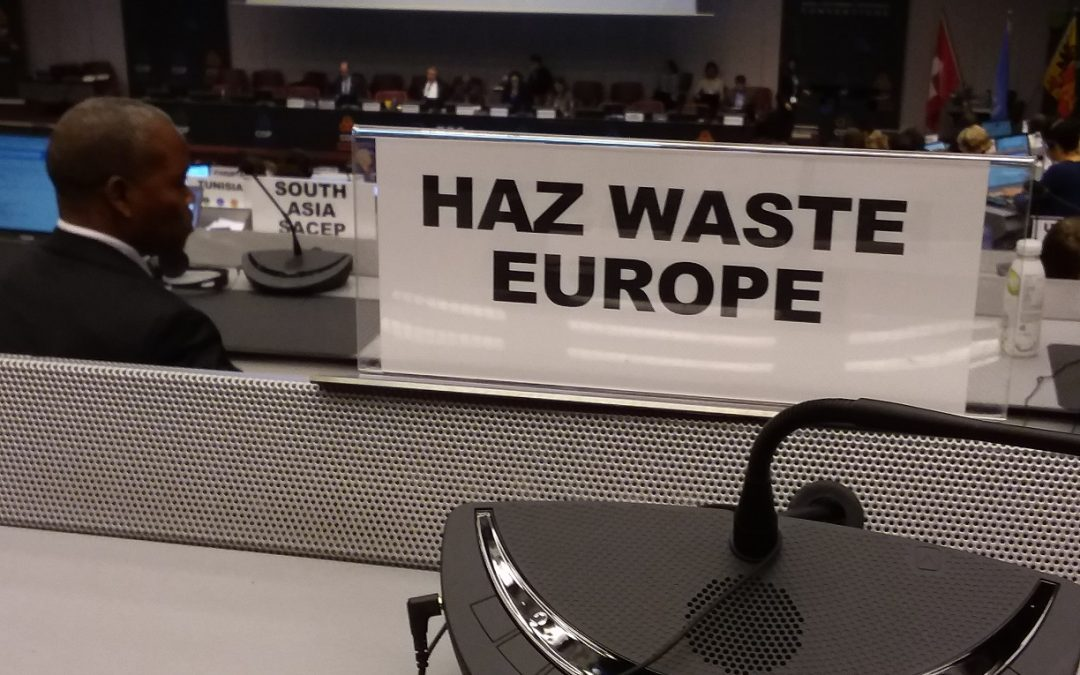 HWE participated in the 2019 Triple COPs in Geneva